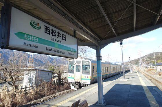 ろうばいの郷 西松井田駅 徒歩