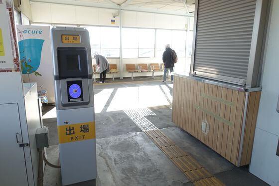 西松井田駅 改札口