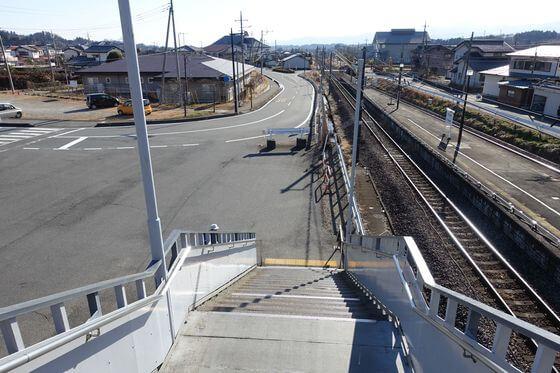 西松井田駅前