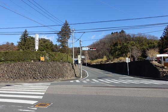 西松井田駅前交差点