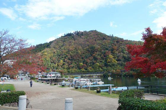 相模湖嵐山