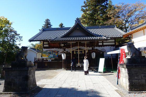 真田神社 社殿
