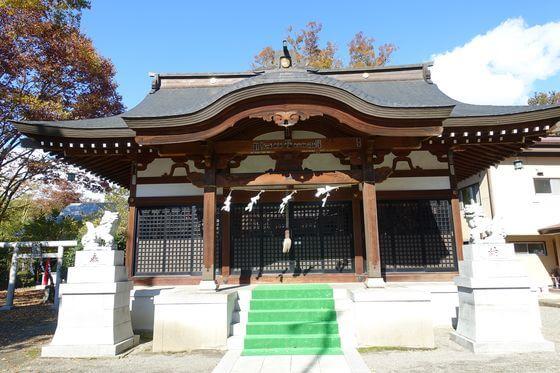 三嶋神社 猿橋 社殿
