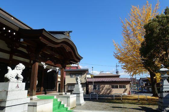 殿上三嶋神社 紅葉