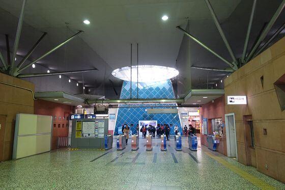 秦野駅 改札口