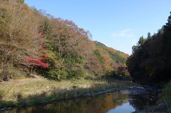 嵐山渓谷 紅葉 撮影スポット