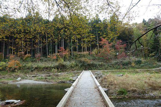 冠水橋 嵐山渓谷