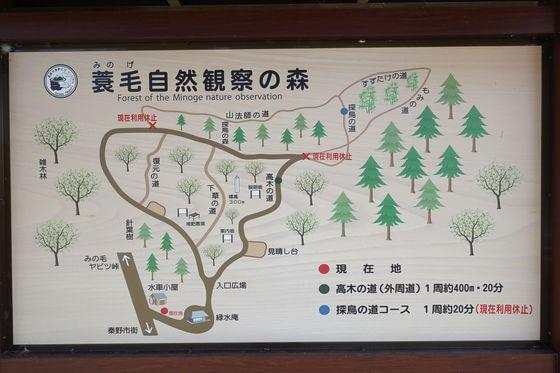 蓑毛自然観察の森
