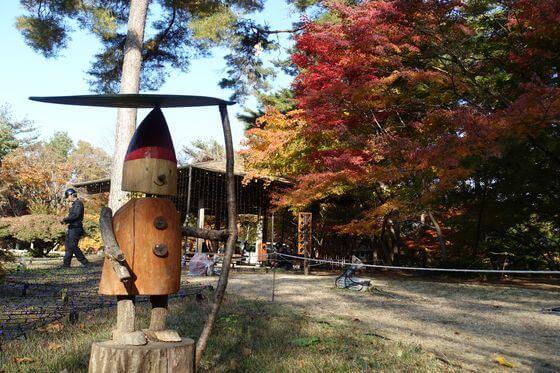 武蔵丘陵森林公園 カエデ