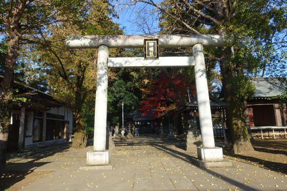 神明社 所沢市中富