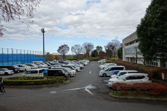 トーベヤンソンあけぼの公園 駐車場