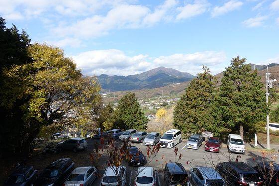 弘法山公園 駐車場