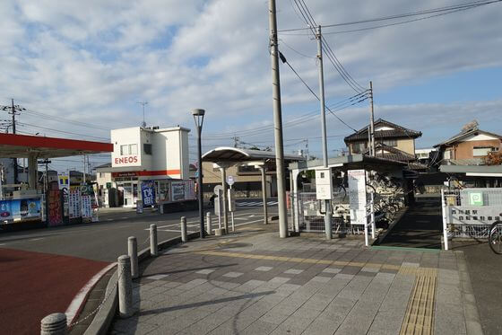 西川越駅 自転車置き場