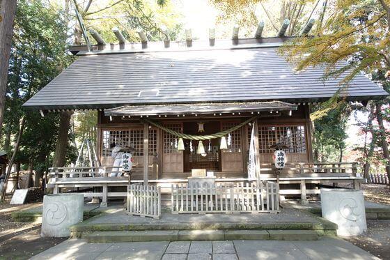 神明社 所沢市中富 本殿