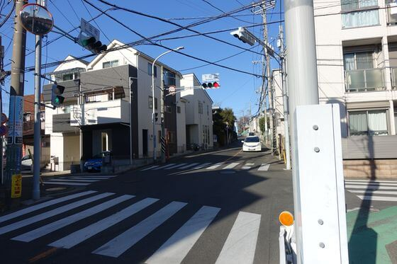 下田町交差点