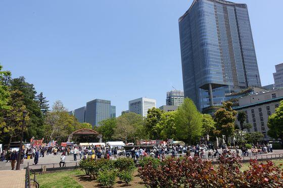 日比谷公園 パエリアタパス祭り