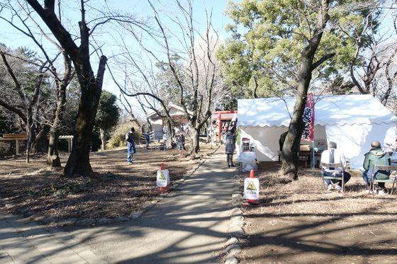 与野公園 天祖神社
