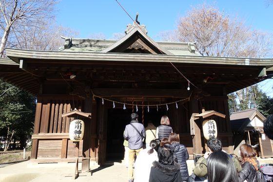 上町氷川神社 与野