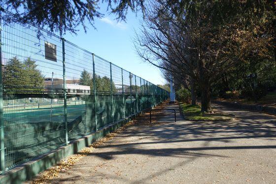 等々力緑地 テニスコート