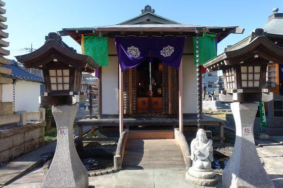 宝蔵寺 川崎 弁財天堂