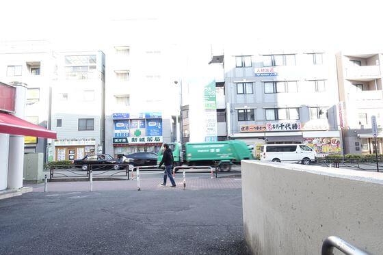 武蔵新城駅 北口