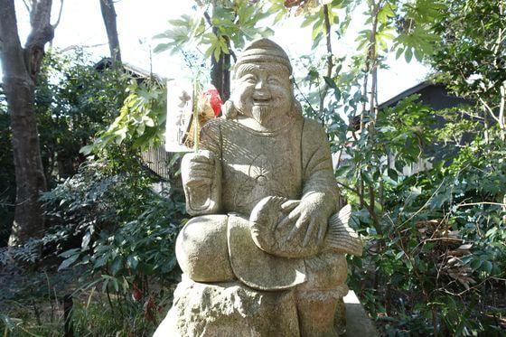 佐倉七福神 麻賀多神社 恵比須