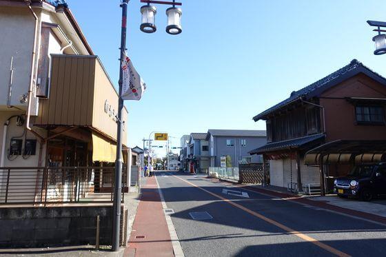 旧城下町通り 佐倉