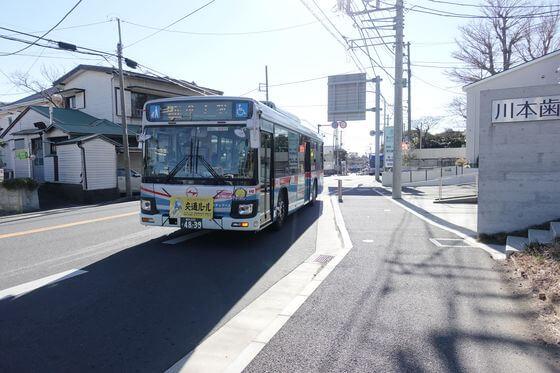 旧役場前バス停 葉山