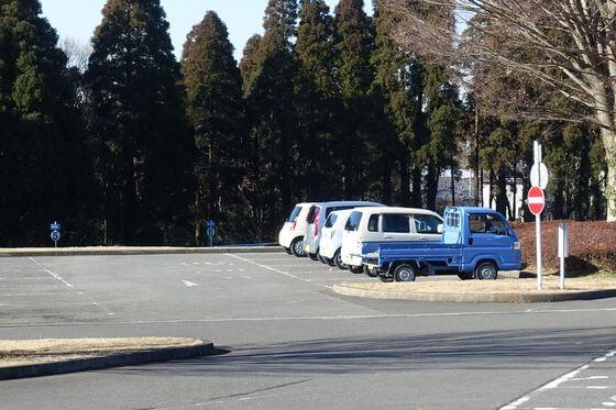 昭和の森 駐車場