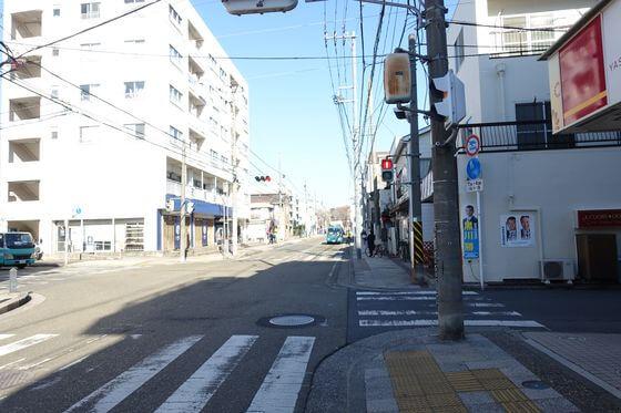 町屋交差点 横浜