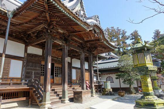 修禅寺 本堂