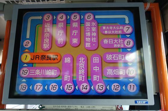 JR奈良駅 市内循環バス