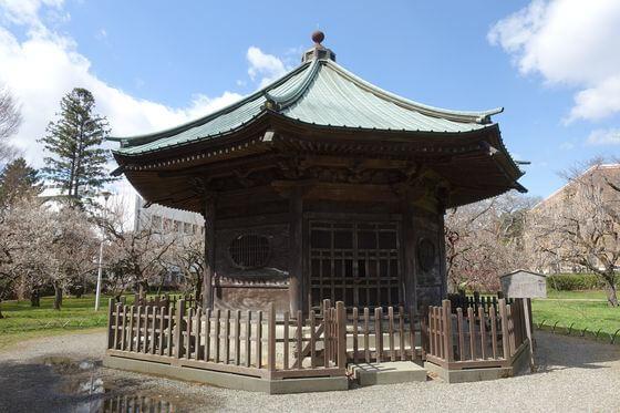 弘道館公園 八卦堂
