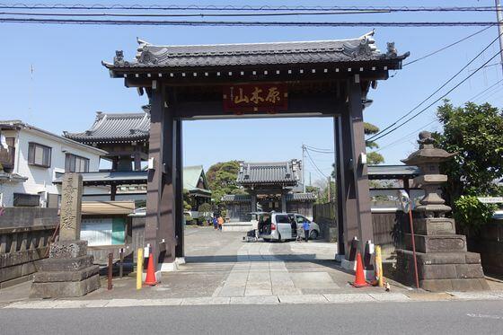 千葉県 妙行寺 総門