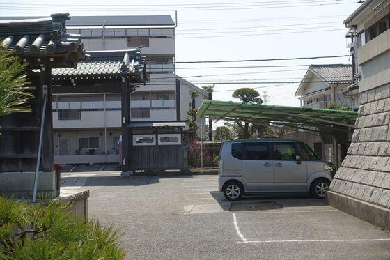 千葉県 妙行寺 駐車場