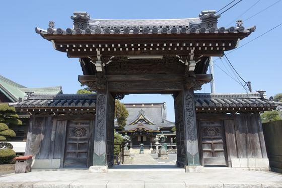 千葉県 妙行寺 山門