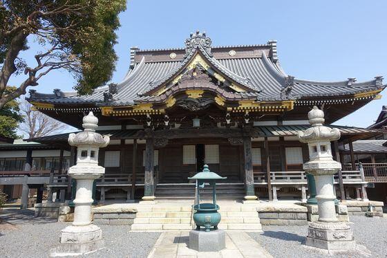 千葉県 妙行寺 本堂