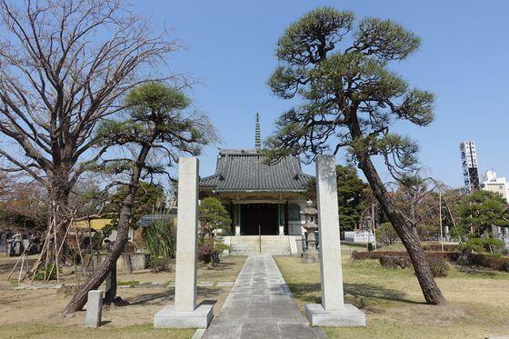 千葉県 妙行寺 御堂
