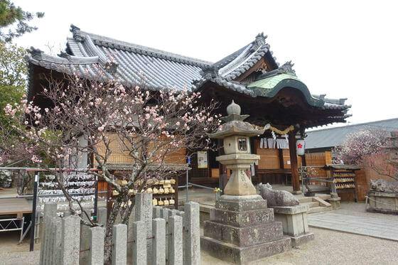 菅原天満宮 奈良 社殿