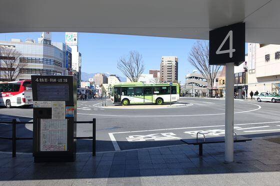 甲府駅 南口 バス
