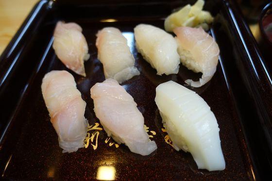 前原寿司 南伊豆 地魚寿司