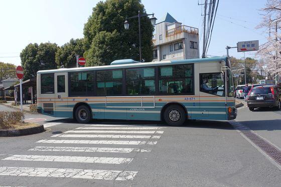狭山稲荷山公園 バス