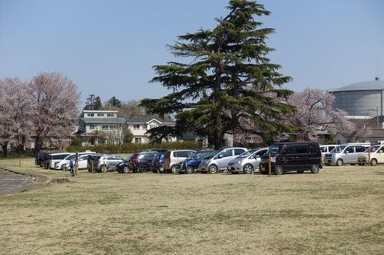 狭山稲荷山公園 駐車場
