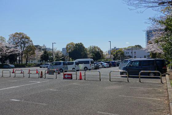 木場公園 駐車場