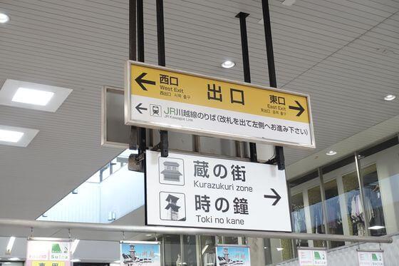 川越駅 改札口