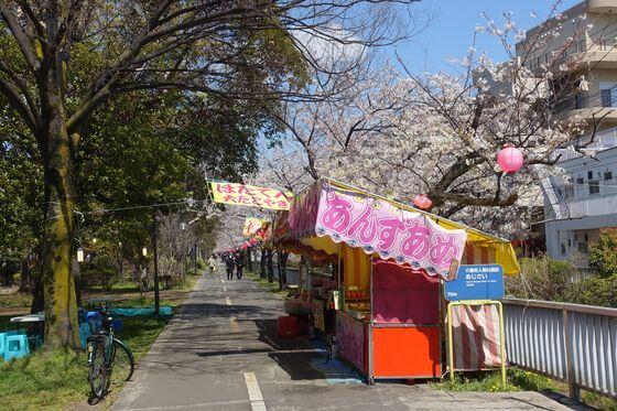 仙台堀川公園 屋台
