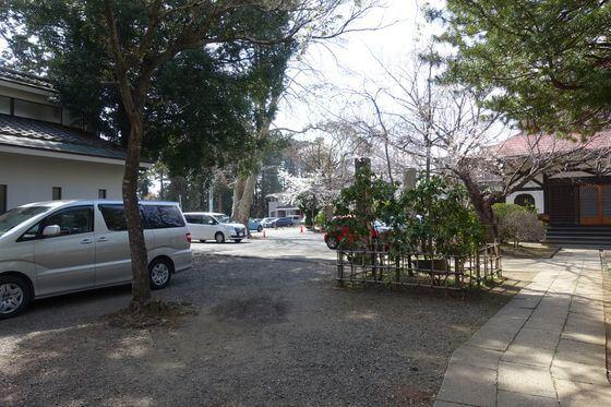 宗吾霊堂 駐車場