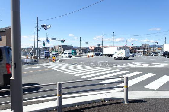 武蔵野橋南交差点