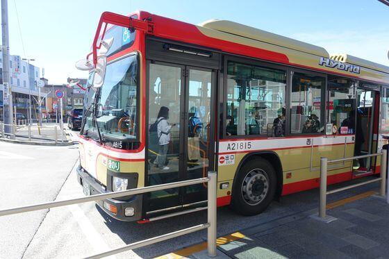 福生南公園 バス