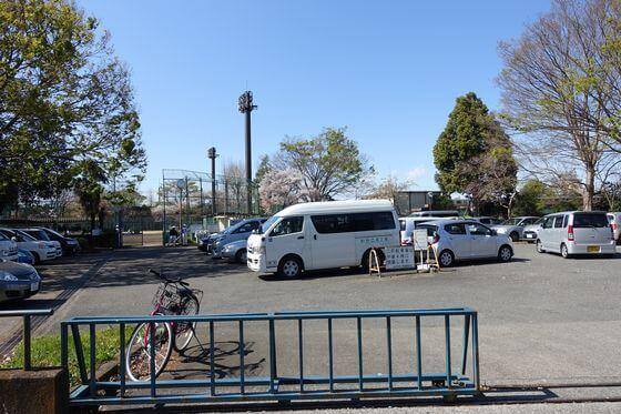 北野公園 駐車場